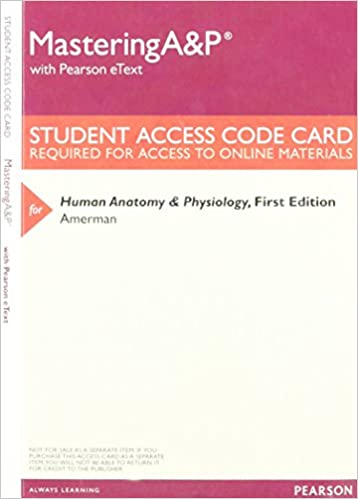 Mastering A&P with Pearson eText -- ValuePack Access Card -- for ...