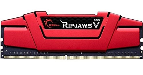 G.SKILL Ripjaws V Series 32GB (4 x 8GB) 288-Pin SDRAM DDR4 3000 (PC4 24000) F4-3000C15Q-32GVRB