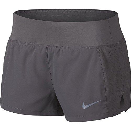 Nike, Pantalones Cortos Deportivos para Mujer Grigio 036