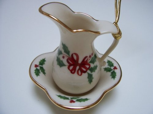r & Bowl Ornament (Lenox Antiquity Accent)