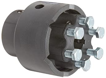 """Delrin and Nylatron Adjustable Torque Limiter, 0.750"""" Bore, Torque Range: 140-350 in-lbs 3.45"""" Length"""