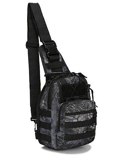 ZQ 10 L Gurttaschen & Messenger Bags Camping & Wandern Draußen Wasserdicht Schwarz Nylon