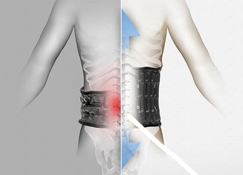 DDS G2 Lumbar Decompression Belt - XL by Disc Disease Solutions (Image #5)