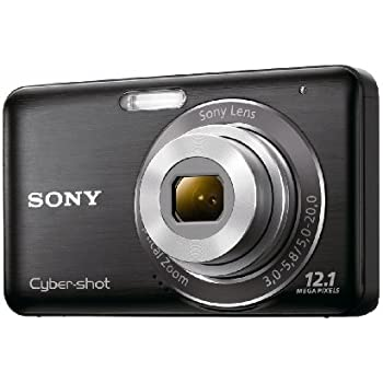 Sony DSC-W310 12.1MP Digital Camera with 4x Wide Angle Zoom with Digital Steady Shot Image Stabilization and 2.7 inch LCD (Black) (OLD MODEL)
