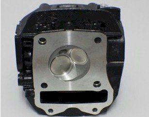 FINBRO Ported Upgraded HEAD ONLY for 125cc Bore - for HONDA GROM / GROM SF, - Heads Ported