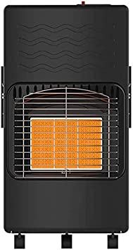 Calentador portátil Quemador, Pequeño Calefacción Calentador Estufa Gas Licuado, Apto para Cocina de Gas Coche Tienda Acampar al Aire Libre del Carro del butano Pesca del depósito de Gasolina