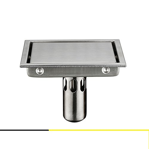 Stainless steel floor drain InvisibleFloor drain odor attempts to prevent the core coverSquare floor drain sewer toilet-B