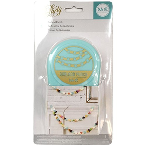 We R Memory Keepers Motion DIY Party Garland RNUM-Feet Punch by American Crafts
