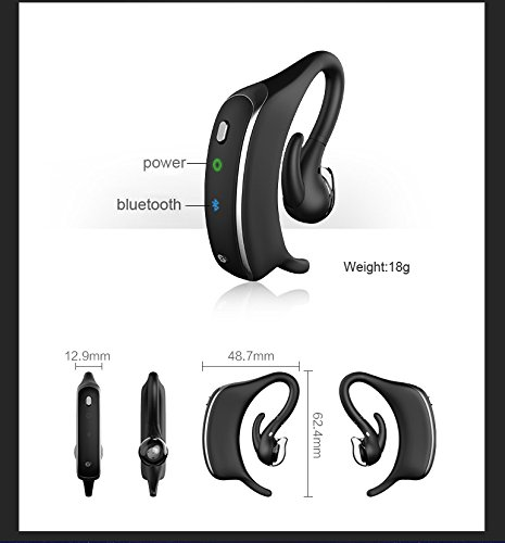 Anti-Snoring Devices,Smart Snore Stopper with Bluetooth Headset Earphone Style Anti Snoring apparatus and Record Sleep Function Health Sleeping Aid Equipment for Ios/Android by Pin Yuan (Image #5)