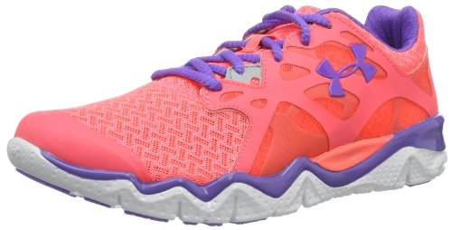 Under Armour Damen Laufschuhe UA W Micro G Monza NM-BRL/MSV/VIK Pink (Brilliance / Metallic Silver / / Violet Kiss 819)