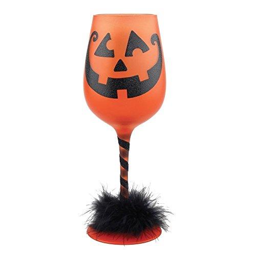 Get Smashed Halloween Wine Glass 15oz