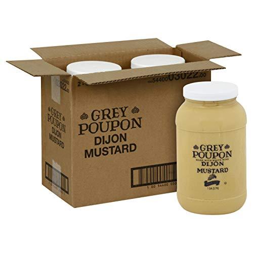 Grey Poupon Classic Mustard, 2 Case - 1 Gallon by Grey Poupon (Image #1)