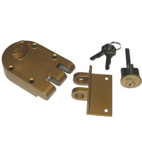 Kaba Ilco 530-53-41 Single Cylinder Jimmy Proof Ilco Lock (Kaba Ilco Plate)