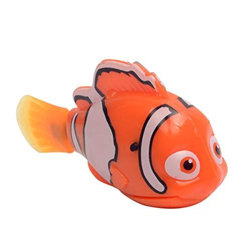 WSTERAO Levensechte elektronisch speelgoed, mini-robotvis, op batterijen werkende elektrische drijvende vis, zwemmen…