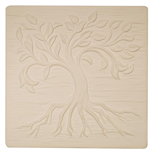 Small Tree Of Life Texture Mold for Glass Fusing and Slumping
