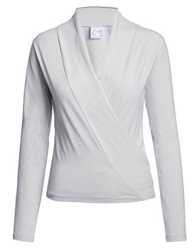 Mujer Para Dhaara Talla Xs De Camisa Yoga Esparto Xl Plateado XwCSq