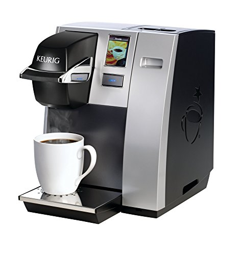 41%2BbbgBNWML - Keurig K150 Single Cup Commercial K-Cup Pod Coffee Maker, Silver(Direct plumb kit not included)