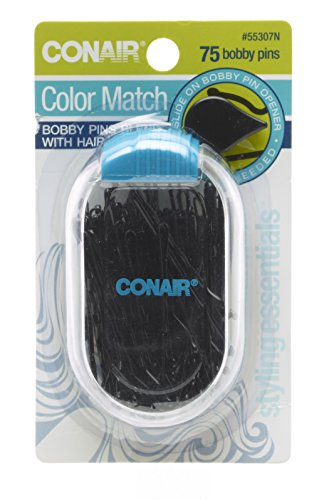 Conair Color Match Bobby Pins, Black