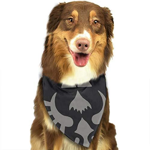 Jesiceeal Cute Pet Scarf Legend of Zelda Triforce Symbol21 Dog Bandana Collars Triangle Neckerchief Puppy Cat Bibs Scarfs -