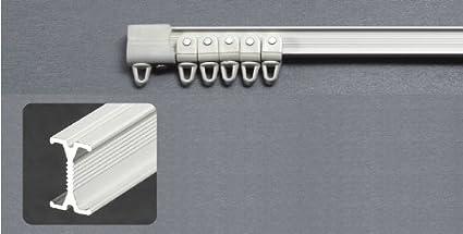 Montaggio Binario Tende A Soffitto.Barthsysteme Binario Piccolo Per Tende Flessibile Per