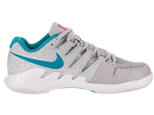 Nike Vrouwen Zoom Vapor X Tennisschoenen Wolf Grijs / Blauwe Nevel / Hete Lava / Wit