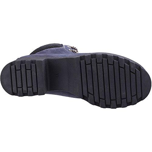 Navy Resistant Womens Boots Water Walking Ankle Darkwood Pine Heeled Ladies Inwv1q4F4x