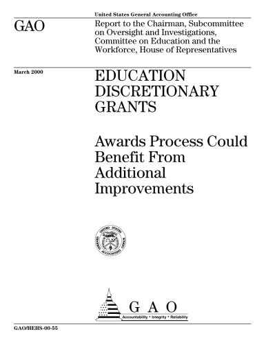 Education Discretionary Grants: Awards Process Could Benefit From Additional Improvements