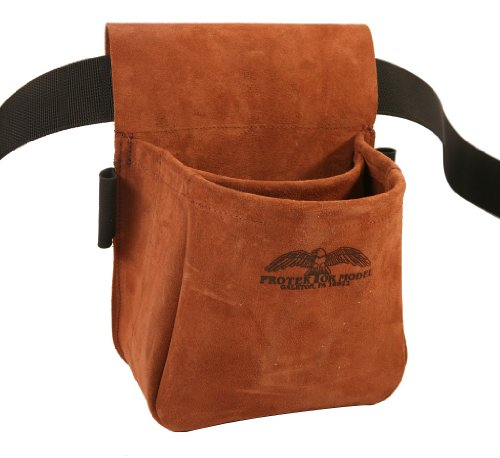 Protektor Model Trap/Skeet Shooters Bag Suede Leather