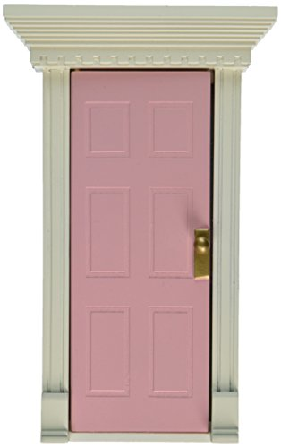 Bedroom Door - Child to Cherish Tooth Fairy Door, Pink