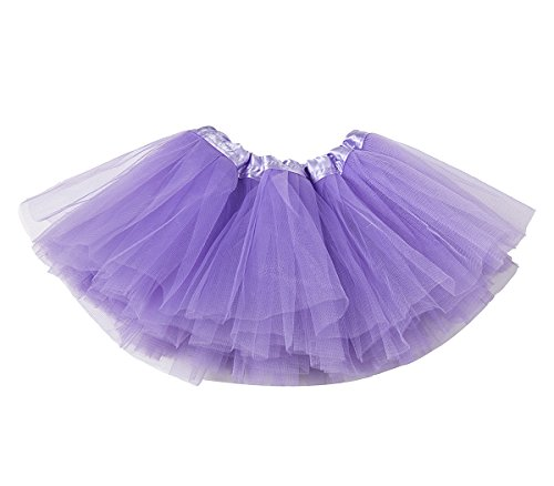 belababy Purple Tutu Skirt for Baby Girls Photo Shooting, 0-2T