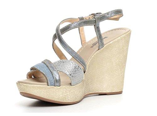 Nero Giardini - Sandalias de vestir de Piel para mujer Jeans