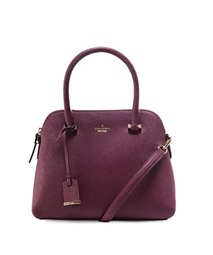 Kate Spade New York Women's Cameron Street Maise Satchel, Deep Plum, One Size by Kate Spade New York
