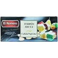Turrones El Romero MAZAPAN FRUTA SUPREMA 200 EL ROMERO