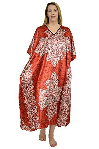 Up2date Fashion Women's Print Caftan, One Size, Style#Caf-18