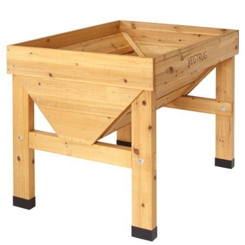 Vegtrug Hochbeet Holz 100 X 78 X 80 Cm 1 Stuck Amazon De Kuche