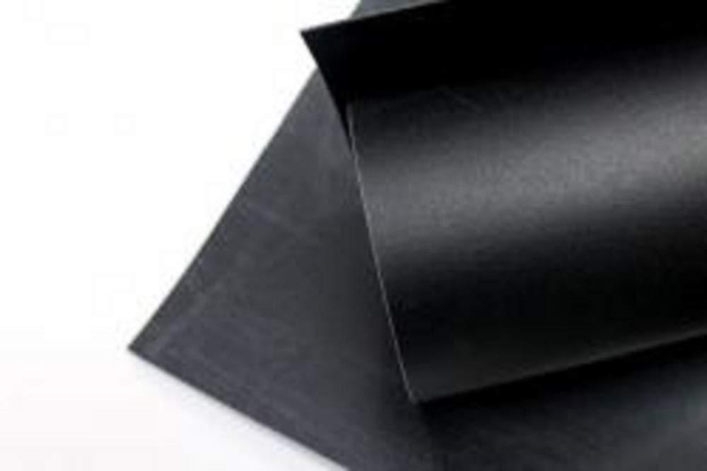 Foglio Worbla termoplastico - BLACK ART Misure diverse (37, 5 X 25 CM)