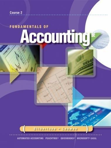 Fundamentals of Accounting: Course 2 (Advantage)