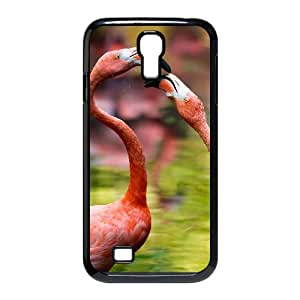 TOSOUL Customized Flamingos Pattern Protective Case Cover Skin for Samsung Galaxy S4 I9500