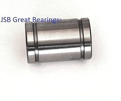 1Pcs Inscribed Circle 10mm LM10UU Linear Ball Bearing Bush Bushing 10x19x2~JP