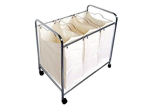 Proman Products ZS16733 Laundry Basket (Laundry Divider Basket)