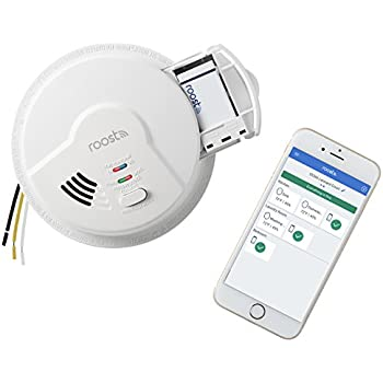 Roost 960-00001 RSA-400 Hardwired Smart Smoke/Fire/CO/Natural Gas Alarm