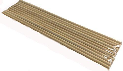 "Perfect Stix Wooden Dowels (Pack of 12) - 14"" x 1/4"""