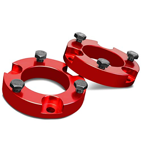 """For Tacoma 4Runner 2WD 4WD Red 2.5"""" Front Spacers Suspension Leveling Lift Kit"""