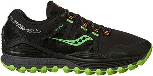 Saucony-Mens-Xodus-ISO-Runshield-Trail-Running-Shoe-BlackSlimeVizipro-8-M-US