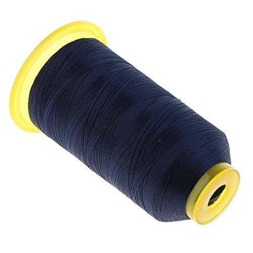 All Purpose 1200 Meter 210D Strong Polyester Sewing Thread for Leather Craft | Color - Navy