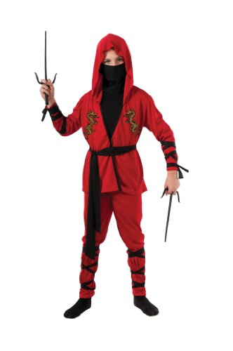 [Halloween Sensations Child's Ninja Lord Costume, Medium] (Ninja Dragon Costumes)