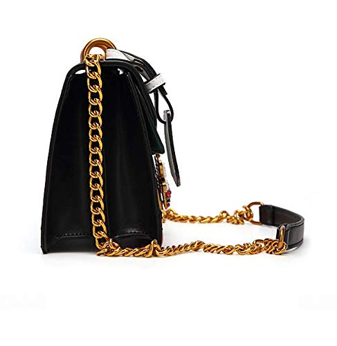 biais unique Temperament entrer Lady en Simple Sac à collision Waaxsingola Fashion bandoulière avec Bee Black en Square la couleur wXqISPxZx