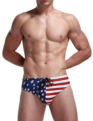 DDSOL-Mens-USA-American-Flag-Drawstring-Bikini-Swimsuit-Swim-Briefs-Beach-Swimwear