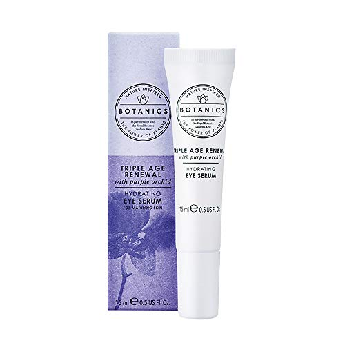 Boots Botanics Triple Age Renewal Eye Serum with Purple Orchid Extract 15 Milliliter