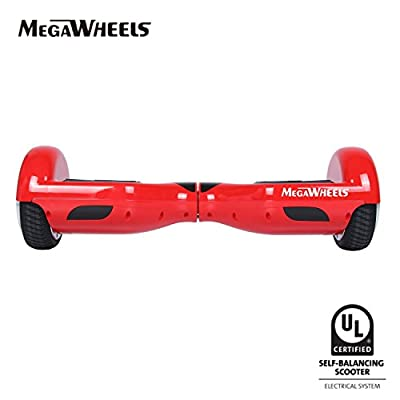 Megawheels Tw01-1 6.5' Hoverboard UL 2272 Certified Dual Motors 2X350W Self-Balancing Smart Scooter from JIALIKE